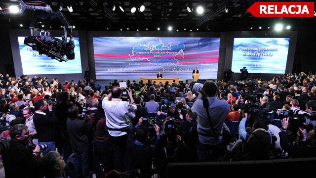 Putin wulgarnie o Turcji. Przyznał też, że w Donbasie są rosyjscy wojskowi