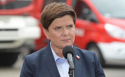 Premier: większość skutków nawałnic została usunięta