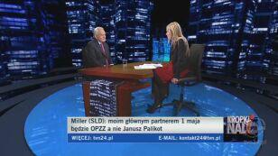 Miller o sondażu poprcia dla partii