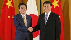 Przywódcy Chin i Japonii chcą przenieść wzajemne stosunki w