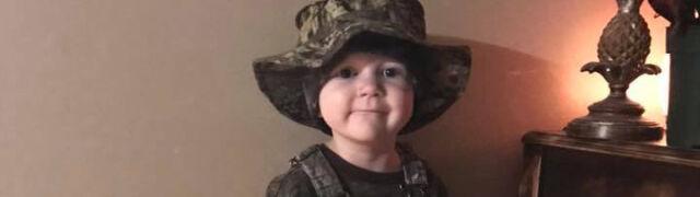Marzył, by zostać żołnierzem.  Wojskowi pożegnali zmarłego pięciolatka