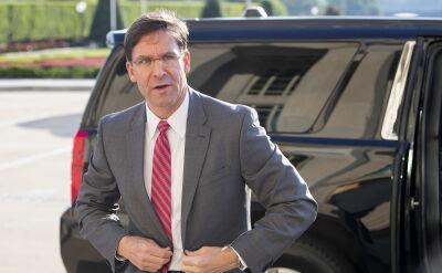 Mark Esper liczy na zdobycie poparcia NATO w sprawie Iranu