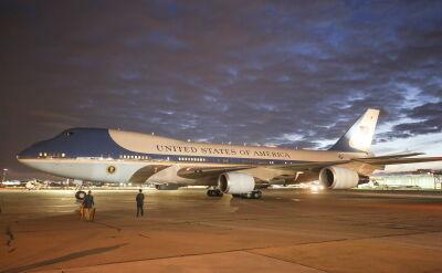 Air Force One z Donaldem Trumpem na pokładzie wylądował w Warszawie