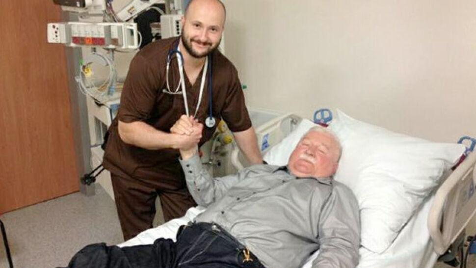 Lech Wałęsa trafił do szpitala