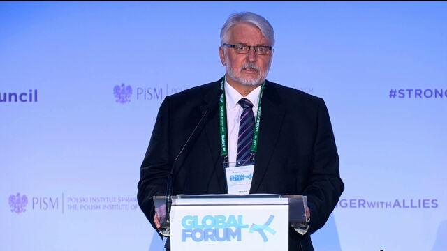 Całe przemówienie szefa MSZ na Global Forum 2017
