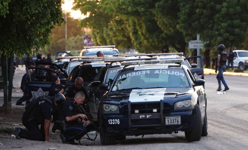Walki między policją a członkami kartelu Sinaloa