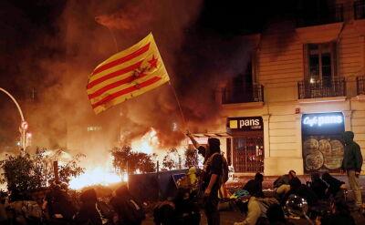 Bitwa separatystów katalońskich z policją w centrum Barcelony
