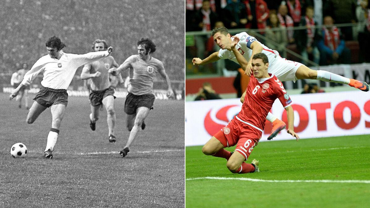 """Boniek porównał gole Lewandowskiego i Lubańskiego. """"Ponad 40 lat różnicy, a jakie podobieństwo"""""""