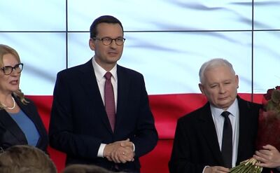 Poland's ruling PiS keeps lower house majority but loses upper house