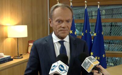 Tusk: koegzystencja w parlamencie w ustach Jarosława Kaczyńskiego brzmi jak taki nieświeży dowcip