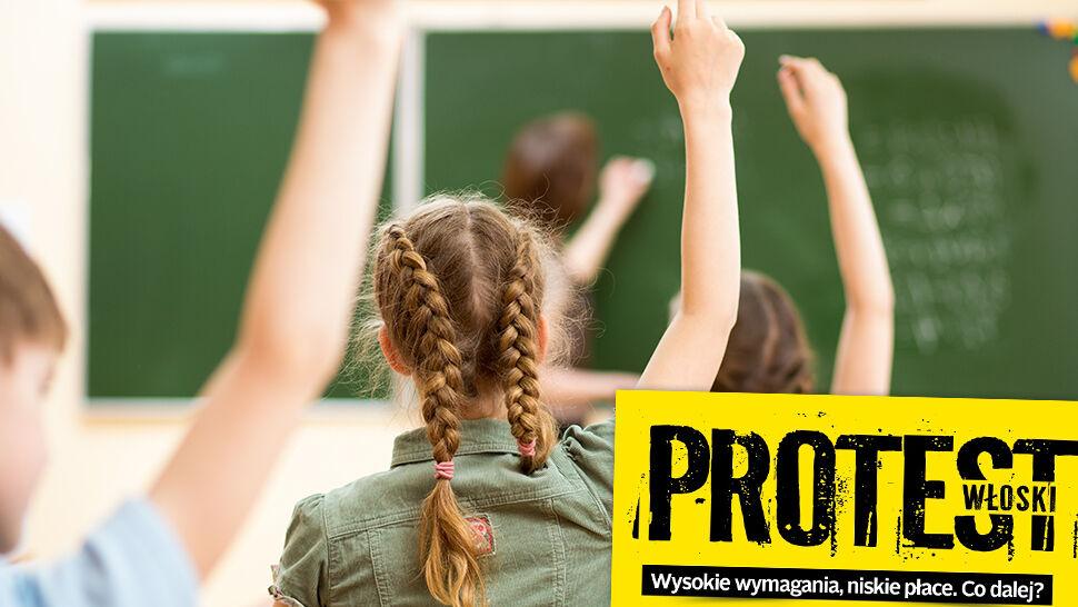 """""""Protest włoski dla wielu nauczycieli może się okazać trudniejszy niż strajk"""""""