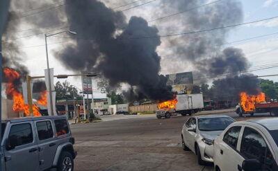 Starcia gangów narkotykowych z policją w Meksyku
