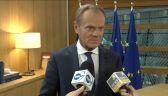 Tusk: To jest absolutnie strategiczna sprawa