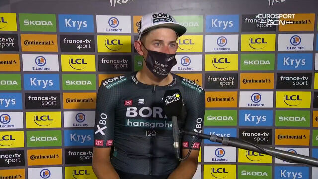 Politt po wygraniu 12. etapu Tour de France