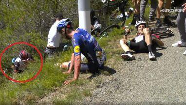 Rafał Majka bez złamań po kraksie w piątkowym etapie Tour de France