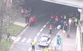 Akcja ratunkowa na ulicach Brukseli