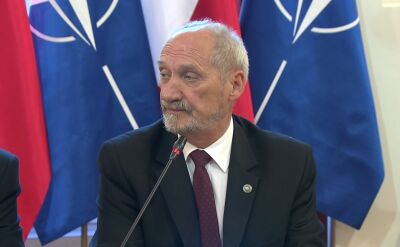 Antoni Macierewicz powitał gości