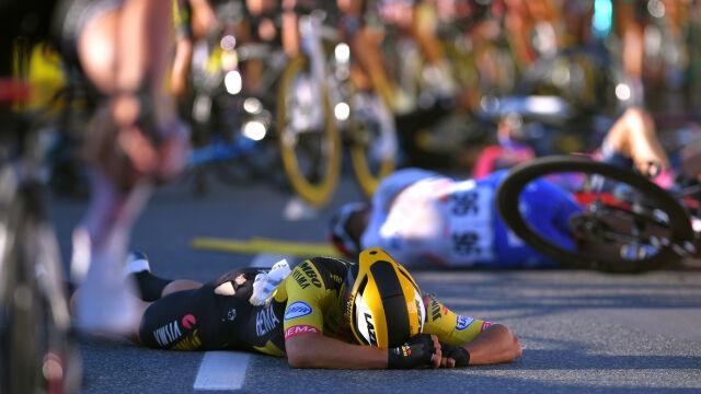 Złamany obojczyk i psychika. Groenewegen wykluczony z Tour de Pologne
