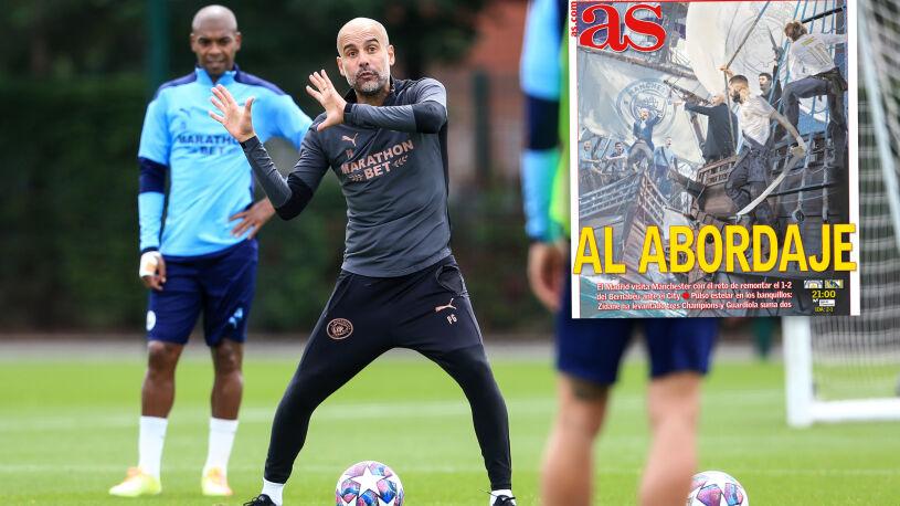 Guardiola apeluje o skupienie, Zidane zapowiada piękny mecz