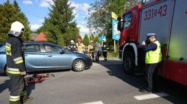 Wypadek kolarek w Wilkowicach. Można oddawać krew
