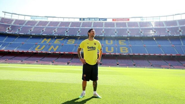 """Messi wrócił na Camp Nou. """"Naprawdę tęskniłem za tym miejscem"""""""