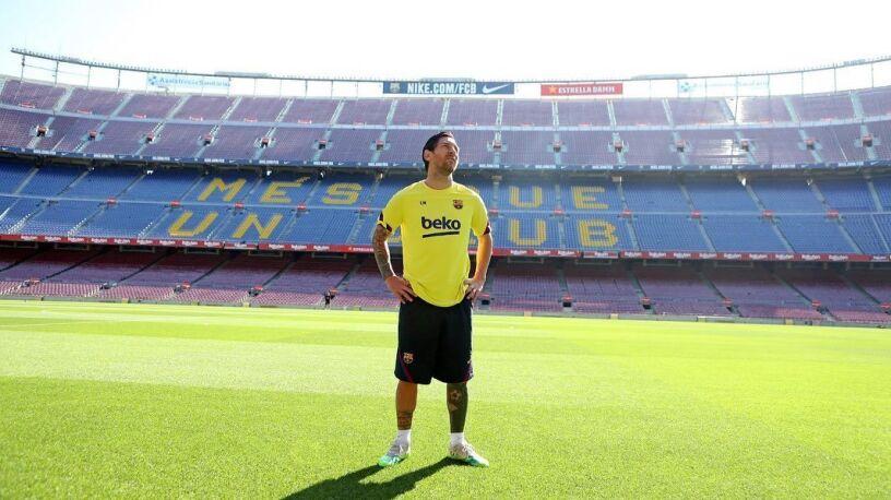 Messi wrócił na Camp Nou