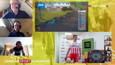 Witold Bańka zadowolony po ORLEN e-Tour de Pologne.