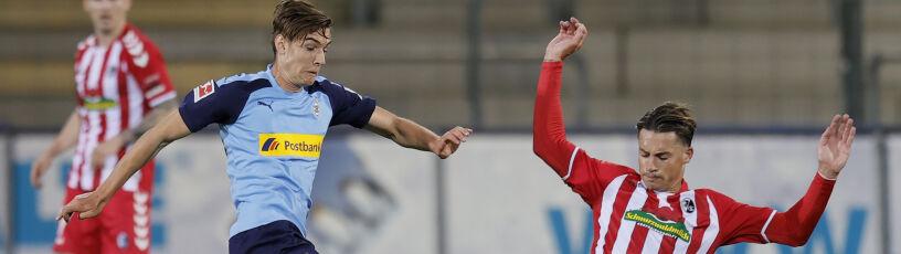 Borussia Moenchengladbach zatrzymana we Freiburgu