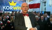 Korwin-Mikke komentuje wyniki wyborów prezydenckich