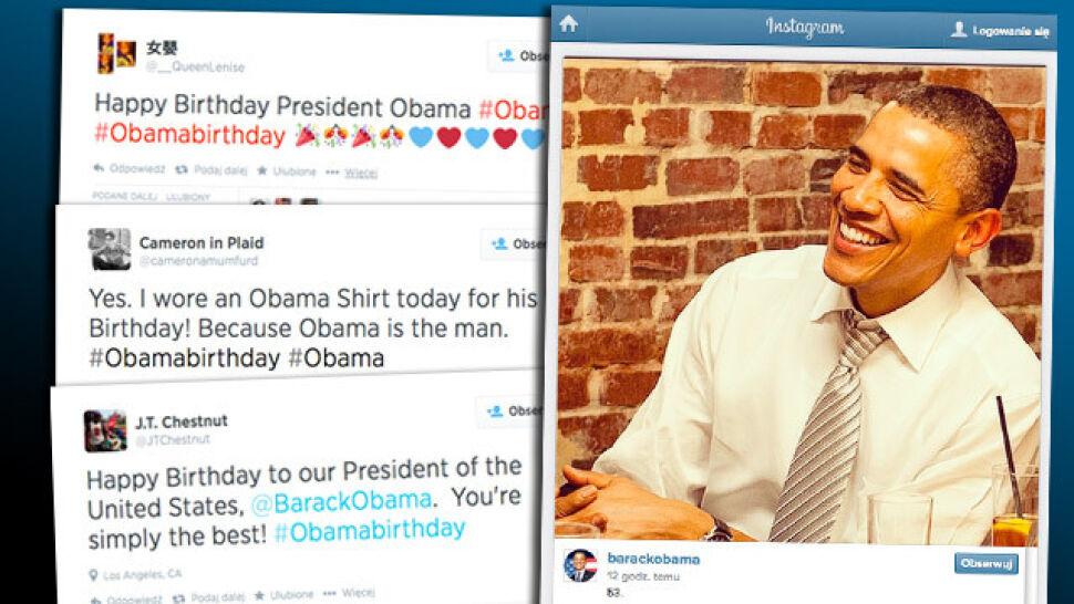 Happy Birthday Mr. President!  Internetowe urodziny Obamy