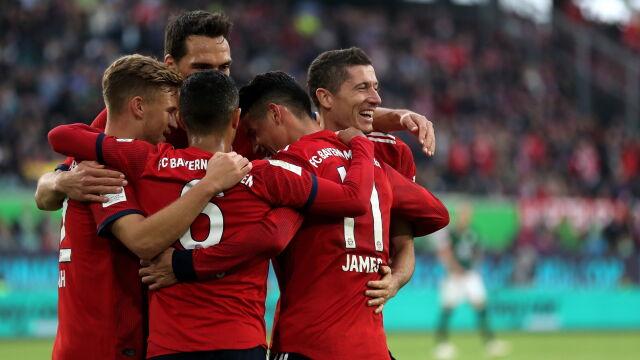 Lewandowski odprawił Greków. Bayern się nie przemęczał