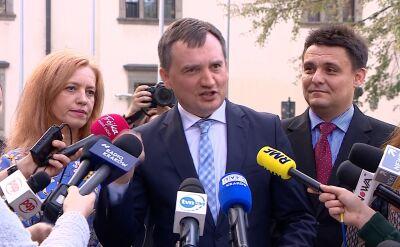 Zbigniew Ziobro pyta Trybunał Konstytucyjny o przepis unijnego traktatu
