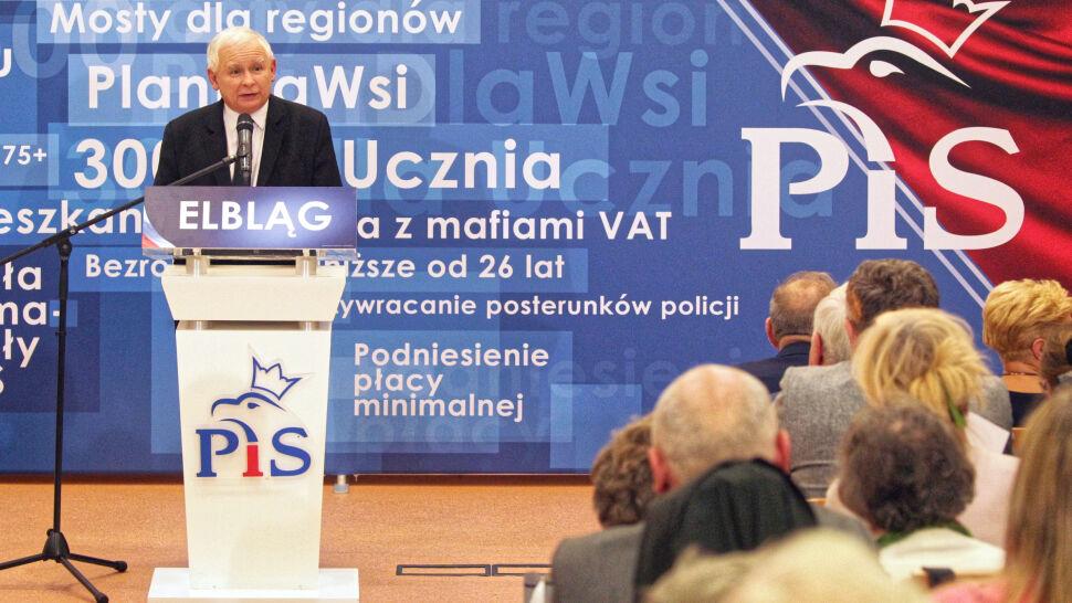 Kaczyński nie wyklucza współpracy z SLD po wyborach
