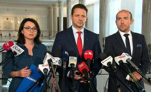 Budka: oczekujemy deklaracji od premiera, czy odetnie się od próby wyprowadzenia Polski z UE