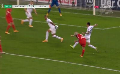 Puchar Niemiec. Augsburg - RB Lipsk 0:3. Gol Angelino