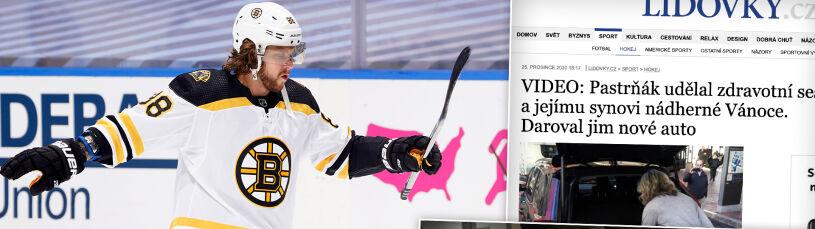 Niezwykły gest gwiazdy NHL wobec pielęgniarki z pierwszej linii frontu