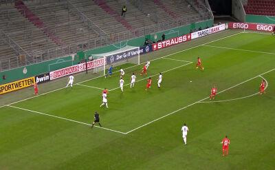 Skrót meczu Augsburg - RB Lipsk w 2. rundzie Pucharu Niemiec