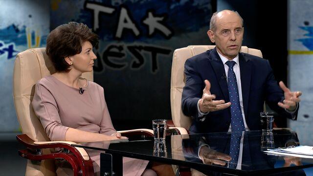 """Monika Rosa i Jan Klawiter w """"Tak Jest"""""""