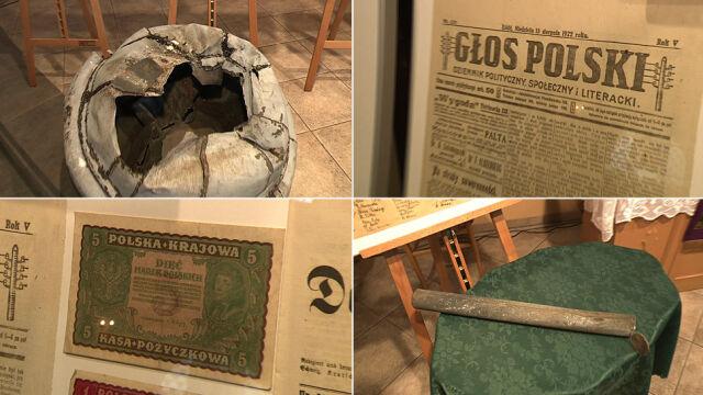 Dokumenty ukryte pod złamanym krzyżem.  Kapsułę czasu pomógł znaleźć wiatr