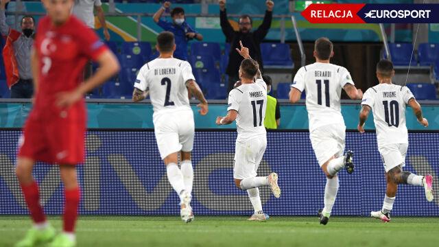 Euro 2020: Turcja - Włochy (RELACJA)