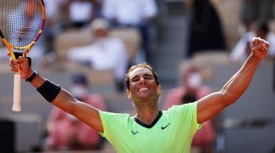 Nadal przegrał seta po 36 wygranych. I tak pewnie awansował