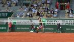 Kapitalna akcja wygrana przez Zvereva w 4. secie półfinału French Open
