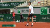 Krawczyk i Salisbury wygrali 2. seta w finale gry mieszanej we French Open