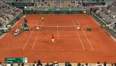 Djoković przełamał Nadala w 5. gemie 3. seta półfinału French Open