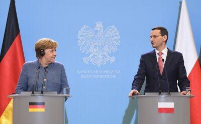Morawiecki po rozmowie z Merkel
