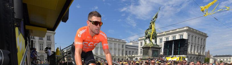 Liczne obrażenia Patricka Bevina. Kolarz CCC wycofał się z Tour de France