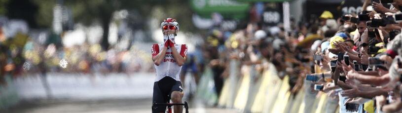 Wielka ucieczka w Tour de France. Alaphilippe odzyskał koszulkę lidera