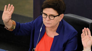 Former Polish PM Beata Szydło rejected as social affairs committee chief
