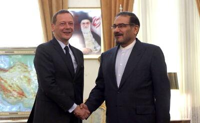 Główny doradca dyplomatyczny Emmanuela Macrona z wizytą w Teheranie