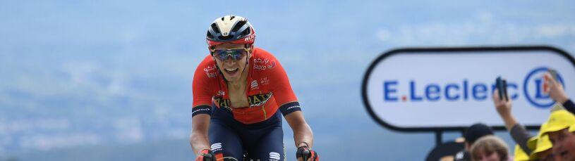 Piekło na mecie Tour de France. Uciekinier Ciccone wyrwał koszulkę lidera